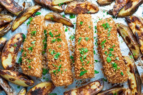 deep south dish baked fish sheet pan fish and chips recipe simplyrecipes