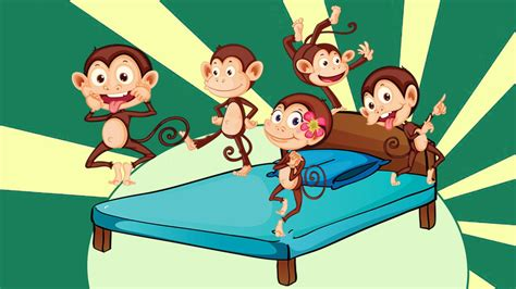 5 monkeys jumping on the bed lyrics five little monkeys youtube