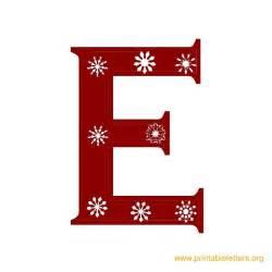 printable christmas letters printable alphabet letters
