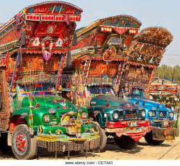 Material Decoration The Beautiful Pakistani Truck Art And Its Downside