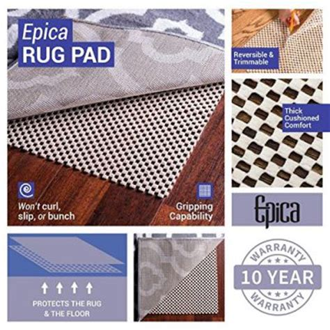 What Of Rugs Are Safe For Hardwood Floors by Rug Pads For Hardwood Floors To Prevent Slipping And