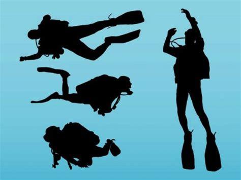 dive gratis scuba diving vector ai pdf free graphics