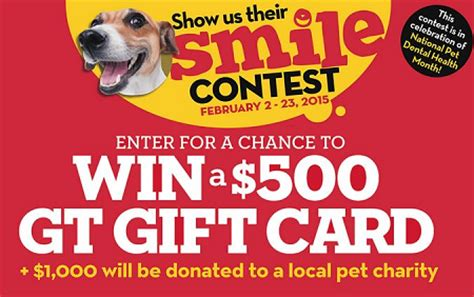 Tiger Gift Card - win 500 giant tiger gift card 1 000 donated to pet charity