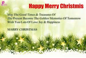 Happy merry christmas wishes greetings message card pictue for