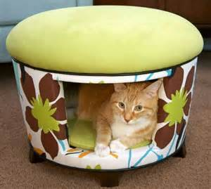 cozy cat furniture spoil your 27 creative and cozy cat beds digsdigs