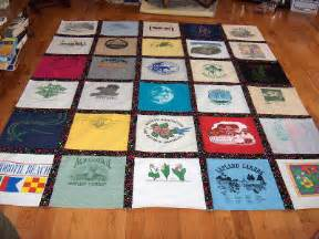 a quilt out of t shirts how to make a shirt quilt