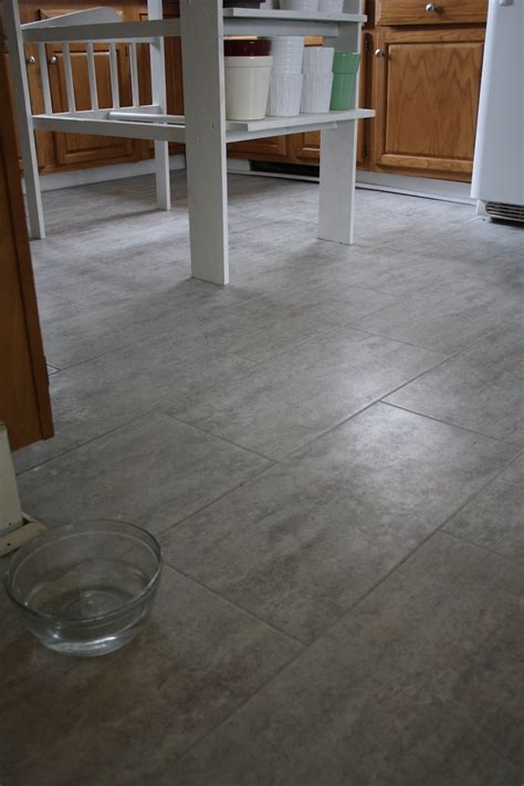 tile floor kitchen tips for installing a kitchen vinyl tile floor merrypad