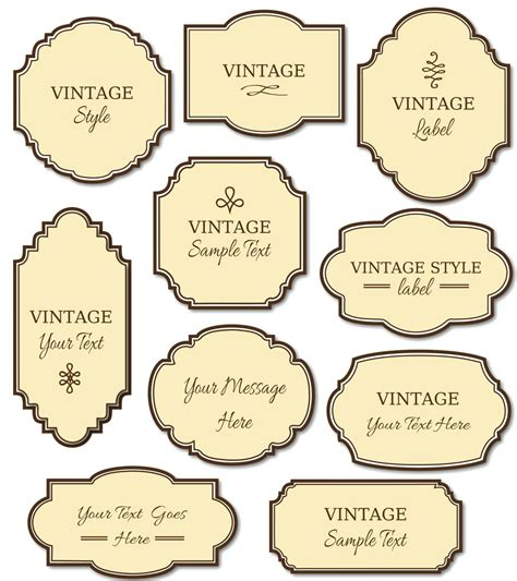 Homemade Label Template Labels Template Free