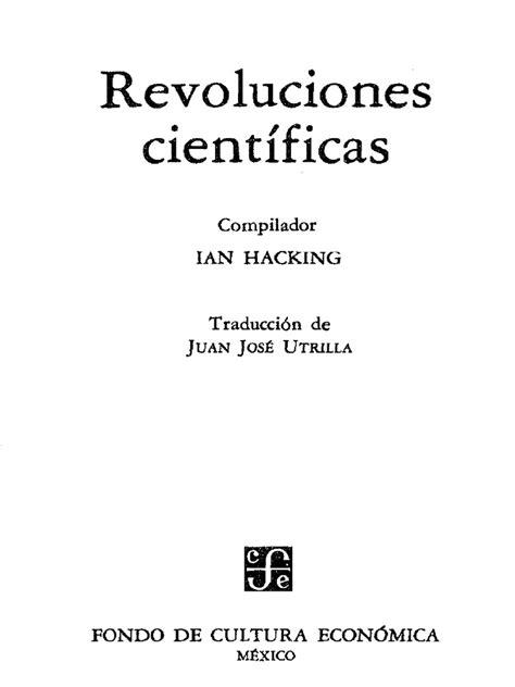 REVOLUCIONES CIENTÌFICAS - Ian Hacking - (1985).pdf