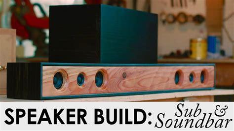 soundbar system   diy speaker build bedroom