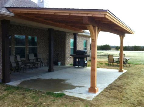 How To Build A Patio Cover by To Build Detached Patio Cover Plans Design
