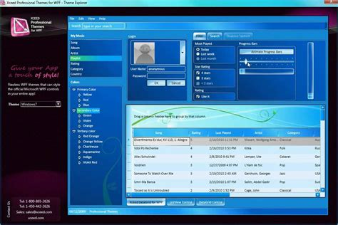 themes for windows 7 youtube xceed pro themes for wpf windows 7 theme youtube