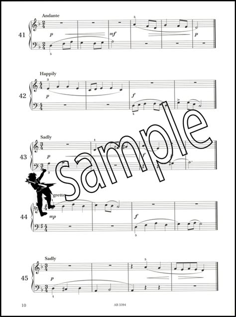 Piano Specimen Sight Reading 4 piano specimen sight reading tests for piano abrsm grade 1 book