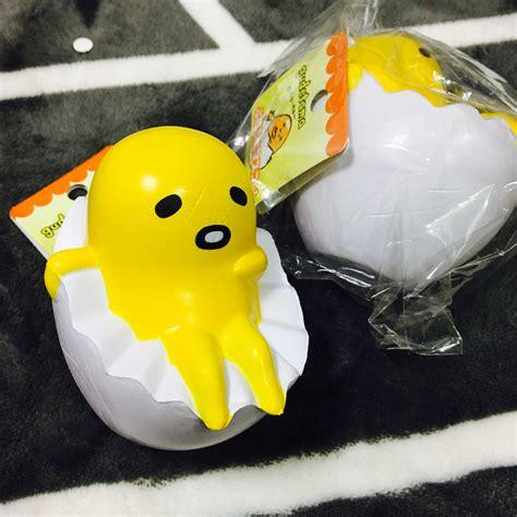 Gudetama Sanrio Squishy 1 squishystuff sanrio gudetama egg squishy mascot store powered by storenvy