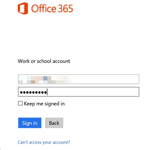 Office 365 Portal External Azure Ad Pass Through Authentication And Single Sign On