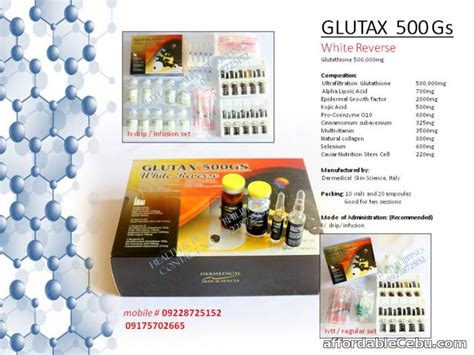 Glutax 500gs glutax 500gs white glutathione for sale cebu city