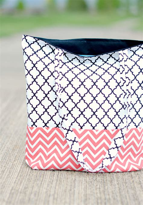 pattern for making a tote bag how to make a bag tote bag pattern and tutorial