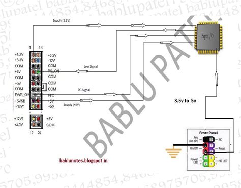 laptop motherboard power section bablu notes power on trigger section in desktop
