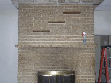 Acid Wash Brick Fireplace by Recent News Projects Voce Cleaning Llc