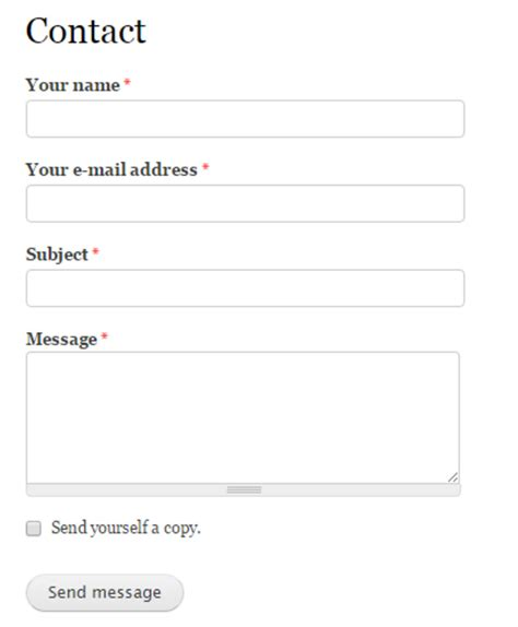 contact form template contact information form pictures to pin on