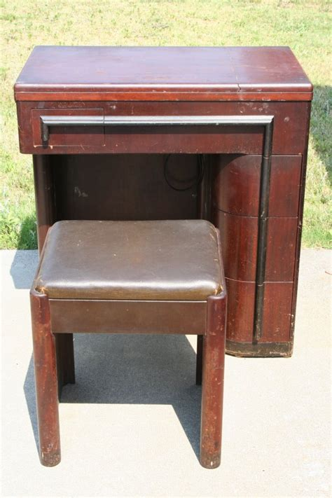 an deco cabinet for singer 15 91 no cape