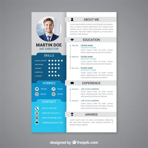 Cv Curriculum Vitae Template by Professional Curriculum Vitae Template Vector Free