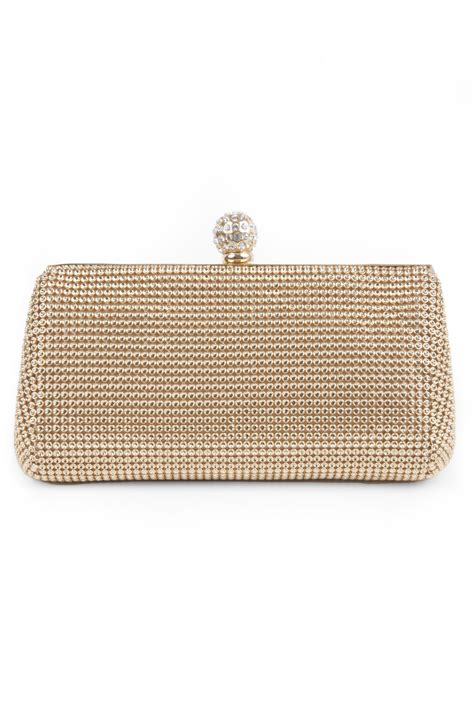 Shopping Magnes Gold Clutch by Gold Mesh Glam Clutch By Whiting Davis For 20 Rent