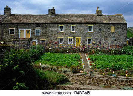 st country cottages cottages at st s chapel weardale county durham stock photo royalty free image 21150335