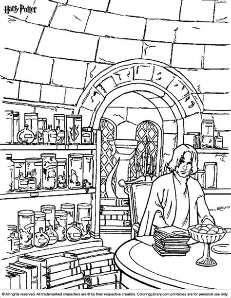 harry potter coloring book look inside harry potter coloring page coloring pages