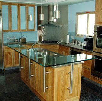 Glass Top Kitchen Island 17 Best Images About Kitchen Bar On Glass Design Cool Bars And Islands