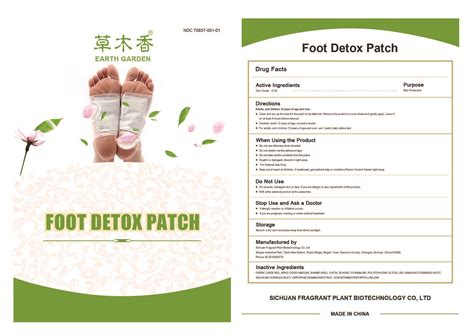 What Type Zinc For Detox by Dailymed Foot Detox Zinc Oxide Patch