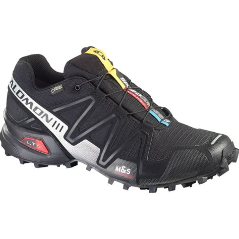 salomon speedcross  gtx mens trail running shoes open