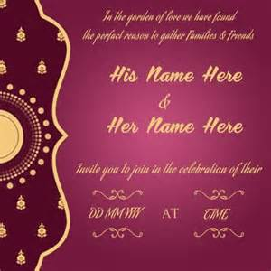 create wedding invitation card simplest creative purple golden design accent