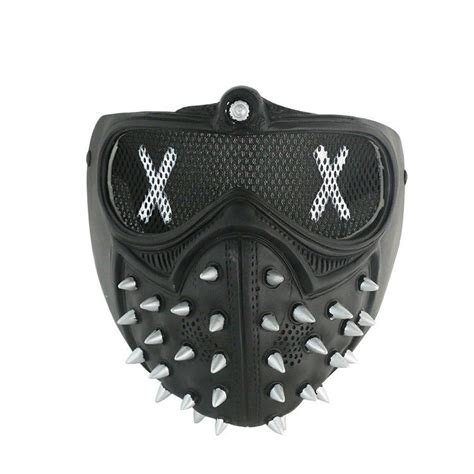 dogs 2 wrench mask dogs 2 wrench pvc maske mask masque kost 252 m costume ebay