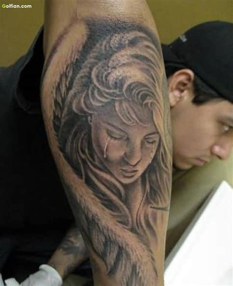 weeping angel tattoo 55 most wonderful sleeve tattoos lovely praying