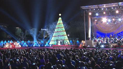 first family lights national christmas tree nbc news