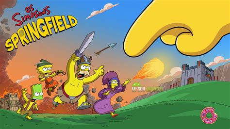 simpsons tapped out apk the simpsons tapped out v4 10 3 mod apk donuts dinheiro e xp ilimitados eu sou
