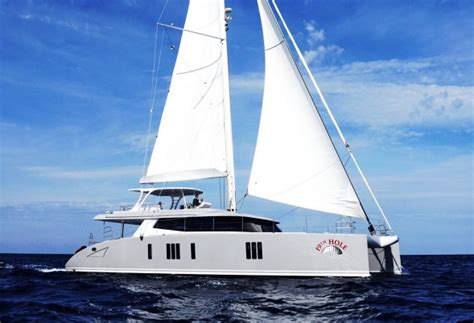 catamaran charter nelson yacht 19th hole sp 233 cifications luxury charter group