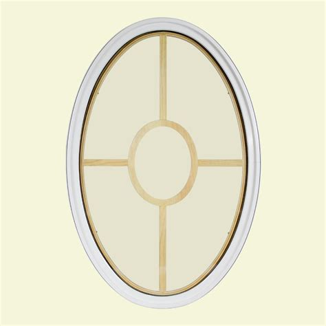 interior paint colors clad jambs available in these frontline 24 in x 36 in oval white 4 9 16 in jamb 3 1 2