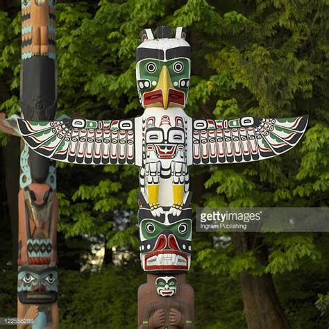 images of totem poles totem pole stock photos and pictures getty images