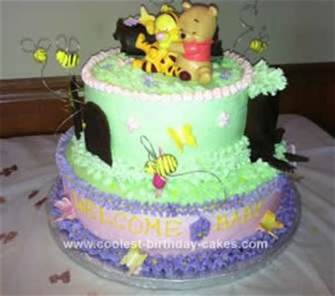 Winnie The Pooh Baby Shower Cakes At Walmart by Winnie The Pooh Birthday Cakes 6