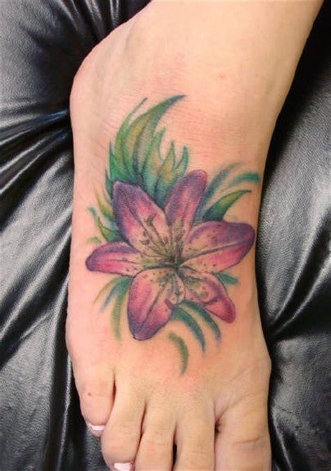 tattoo tiger flower 59 beautiful tiger lily tattoos ideas