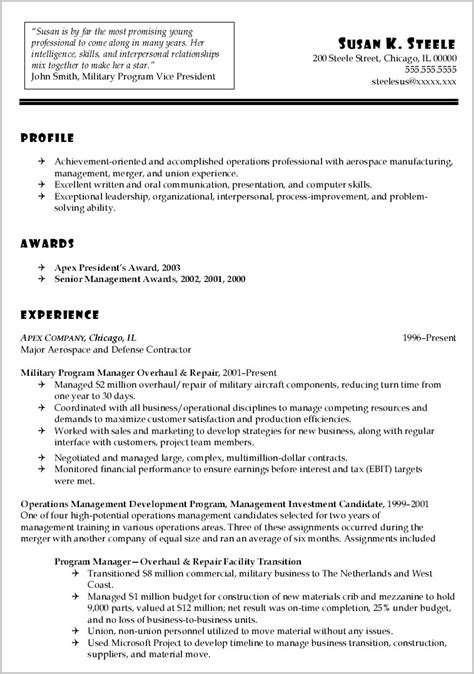 how to translate resume to civilian resume