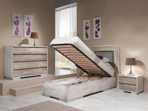 letto singolo in legno letto singolo con il contenitore in legno di rovere
