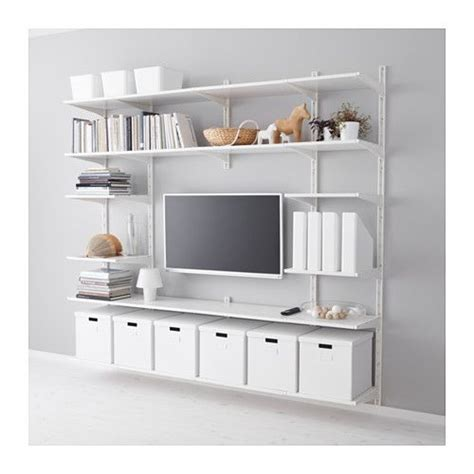 25 best ideas about shelves around tv on