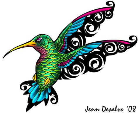 hummingbird tribal tattoo designs s idea s s design hum birds
