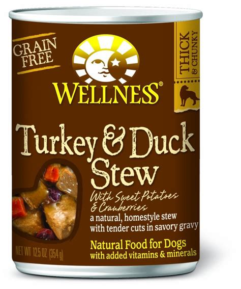 dogs and cranberries wellness grain free canned food