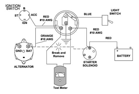 troubleshooting teleflex ammeter gauges