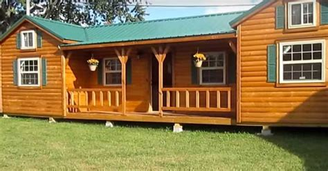 Cabin Company by Cumberland By The Amish Cabin Co Offers 2 Lofts With Central Shared Space