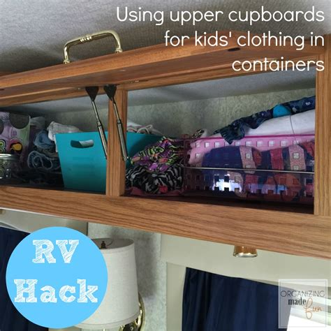 Ideas For Kitchen Cupboards by Rv Organizing And Storage Hacks Small Spaces